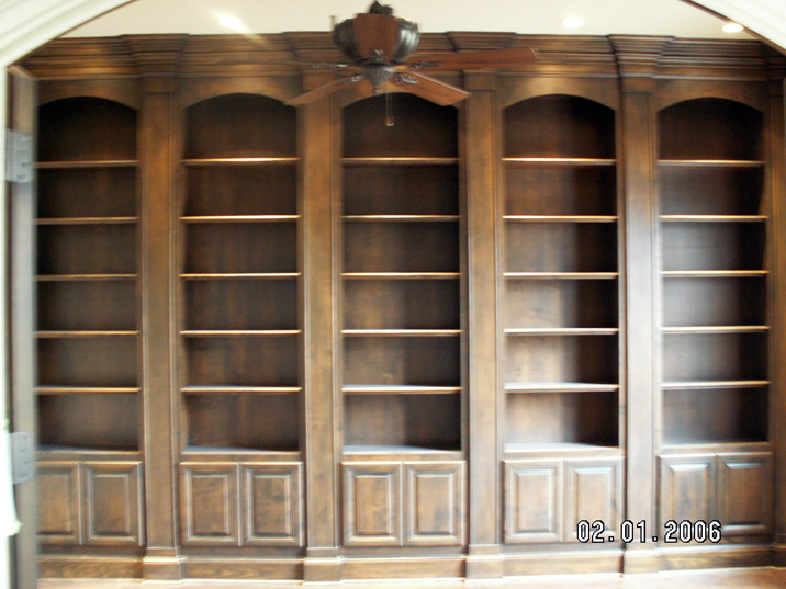 06-349-Bookcases-Red-Oak-Wood-(5)